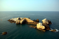 Island in open sea, Karnataka.